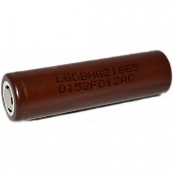 Battery LG HG2 18650 3000mAh 20A Rechargeable (INR18650HG2)