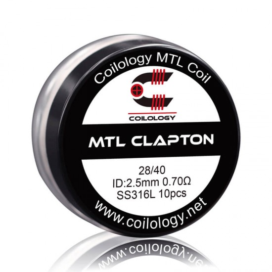 Coilology MTL Clapton SS316L 0.7ohm 10бр.