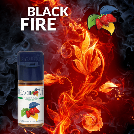 FlavourArt Black Fire