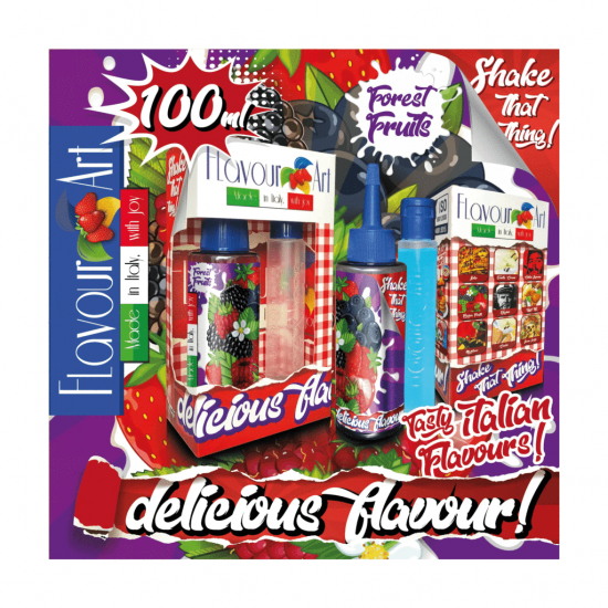 FlavourArt Forest Fruits Mix 'n' Shake (60+40)