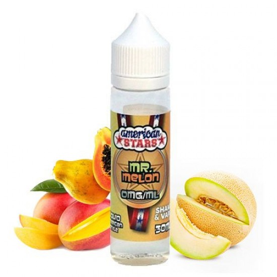 American Stars Mr. Melon Shake 'n' Vape 30ml (60ml)