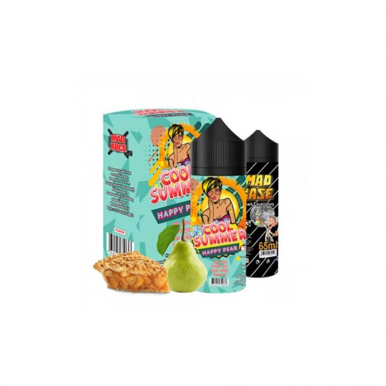 Mad Juice Happy Pear Flavor Shot 20мл (100мл) и 65мл VG