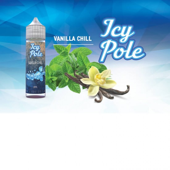Vanilla Chill Flavor Shot 20мл (60мл) - Icy Pole Series