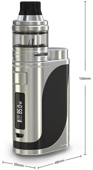 Eleaf iStick Pico 25 с ELLO Mini 85w Dimensions