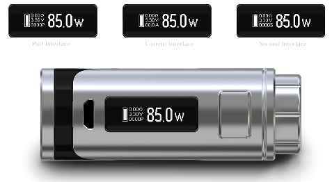 Eleaf iStick Pico 25 с ELLO Mini 85w LED Screen Readings