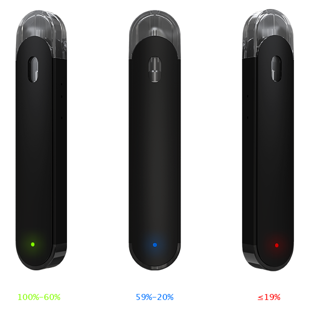 Eleaf Elven Pod Kit Battery Indicator
