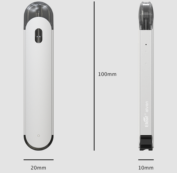 Eleaf Elven Pod Kit Dimensions