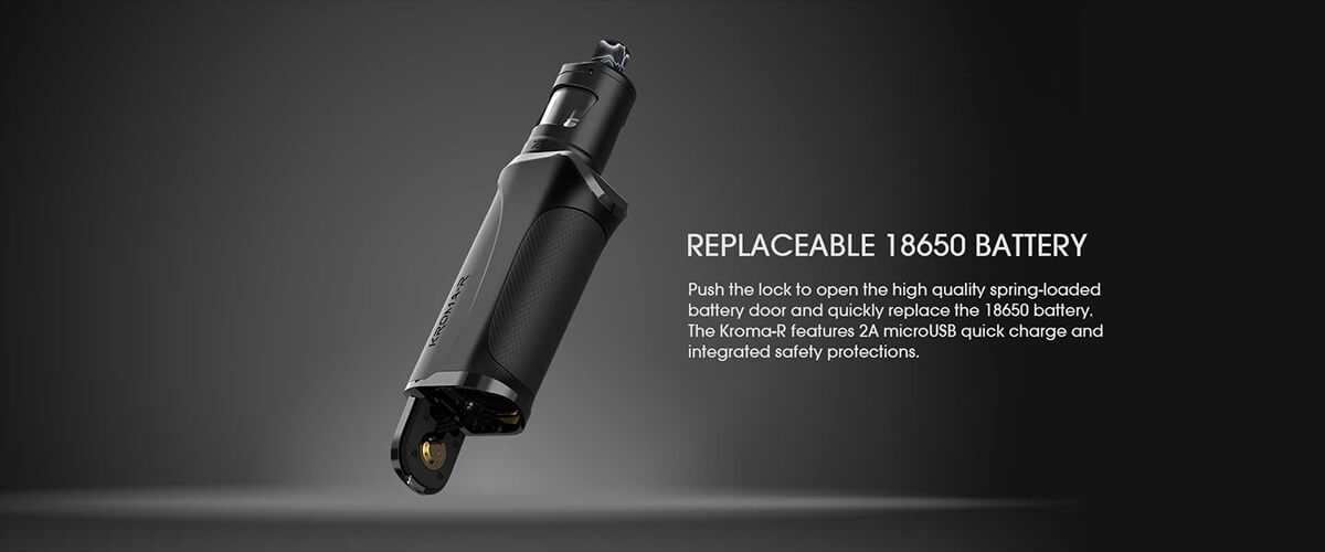 Innokin Kroma-R 80W Zlide 4ml Kit with replaceable battery
