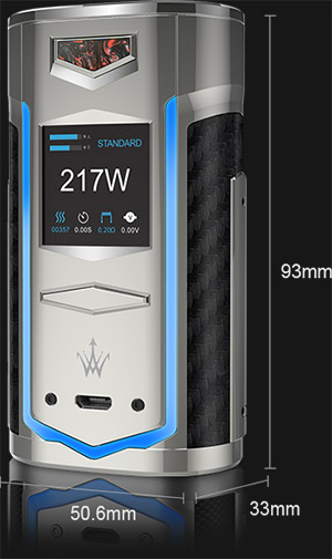 VOOPOO X217 Specifications
